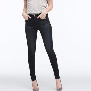 Ag Farrah high rise skinny brooks dark wash jeans